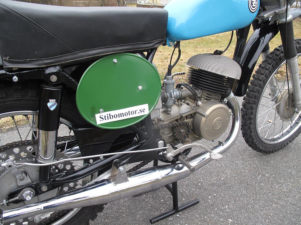CZ 250cc Type 968 1964 Twin Pipe Magnesium Motor