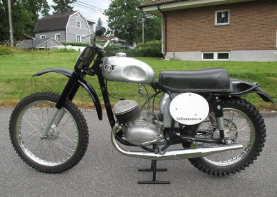 1960 CZ 200cc Type 964 Twin Pipe