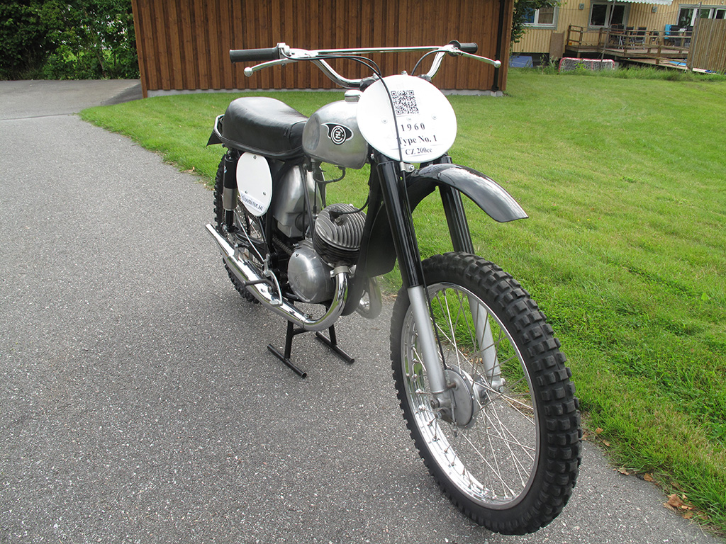CZ 200cc Type 964 1960 Twin Pipe