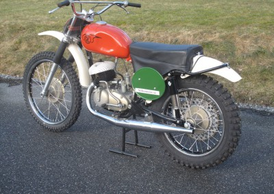 1966 CZ 250cc Type 968 Twin Pipe Magnesium Engine