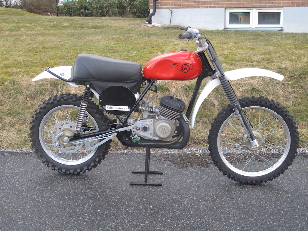 CZ 125cc Type 984/1 1970