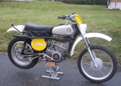 1973 CZ 250cc Enduro – SÅLD