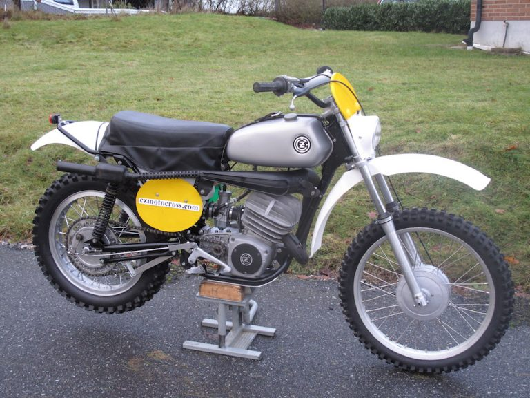 1973 CZ 250cc Enduro – SOLD