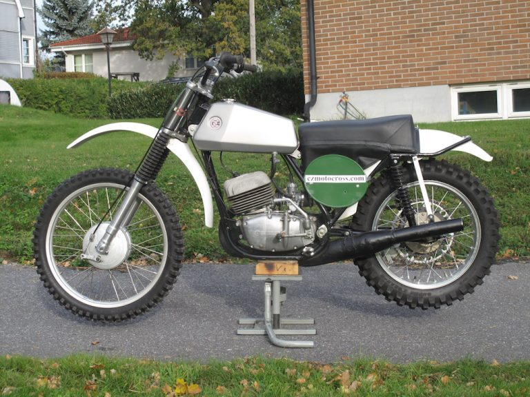 1972 CZ 250cc – SÅLD