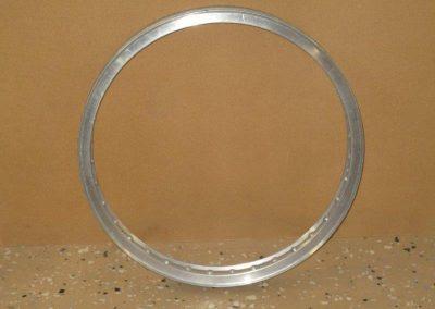 Framhjul fälg 21 tum Aluminium