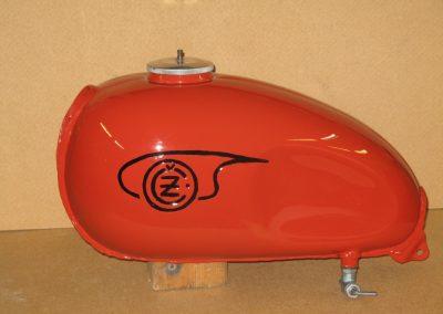 Bensintank CZ Cross 8L 1966-1970