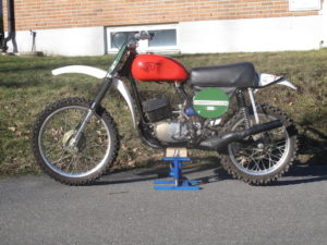 "1973 CZ 250cc ""Factory bike"""