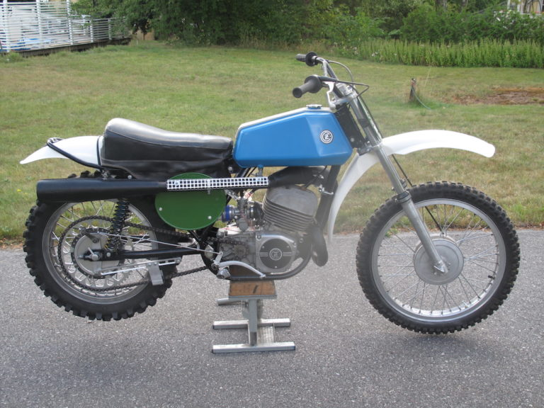 1973 CZ 250cc Type 980