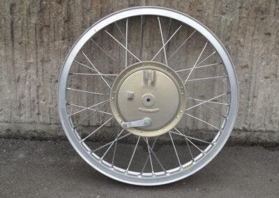 "Framhjul 21"" magnesium, nya ekrar, alm-fälg 180mm x 25mm"