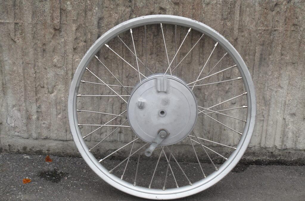 "Front wheel 21"" alm-rim 160mm x 35mm"