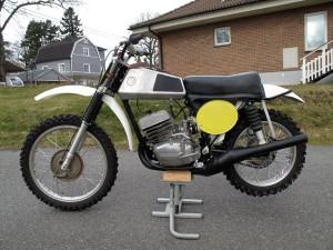 CZ 1973 380cc Down Pipe