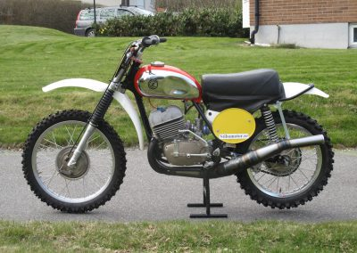 1965 CZ 360cc Type 969/0 Twin Port (400cc) – SÅLD