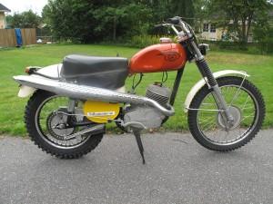 CZ 175cc Type 971 1966 Enduro Side Pipe 5 Gears