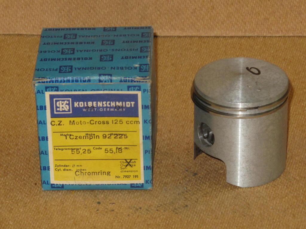 Kolv kort 125cc 1970-74 KS 55,00 55,25