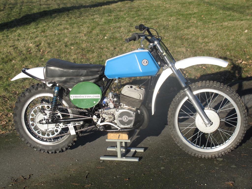 1973 CZ 250cc
