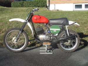 1971-74 CZ 250cc Fabriks cykel
